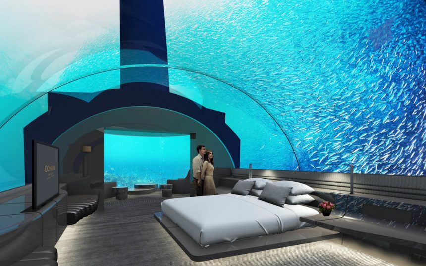 World's 1st underwater hotel | The Muraka in the Maldives