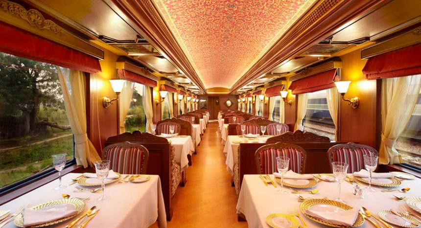 Most luxurious train rides in the world